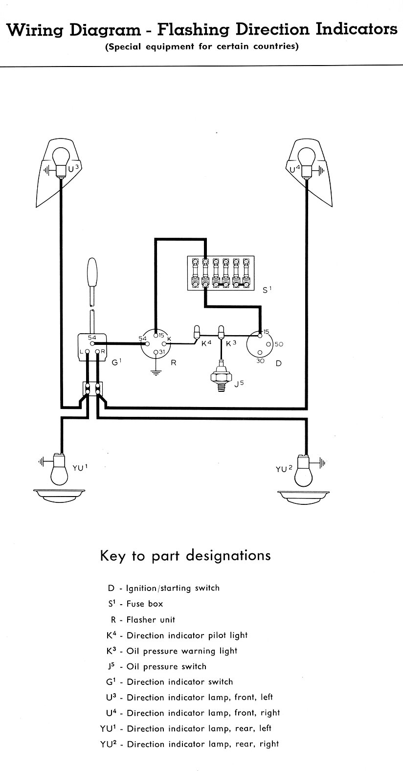 medium resolution of thesamba com type 2 wiring diagramsturn signal wiring