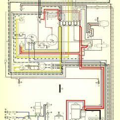 Car Wiring Diagram Program 2000 S10 Blazer Radio Thesamba.com :: Karmann Ghia Diagrams