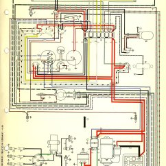 Vw Beetle Wiring Diagram Schwinn S350 Electric Scooter 1974 Engine Volkswagen Cooling System