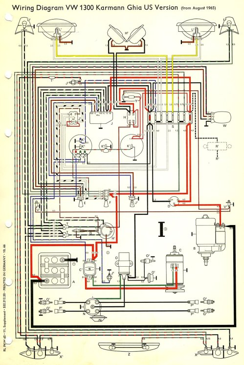 small resolution of 1971 vw ghium wiring