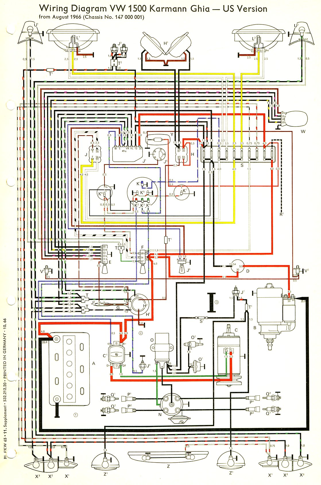 vw beetle wiring diagram volvo 240 1989 for 68 bug free engine image