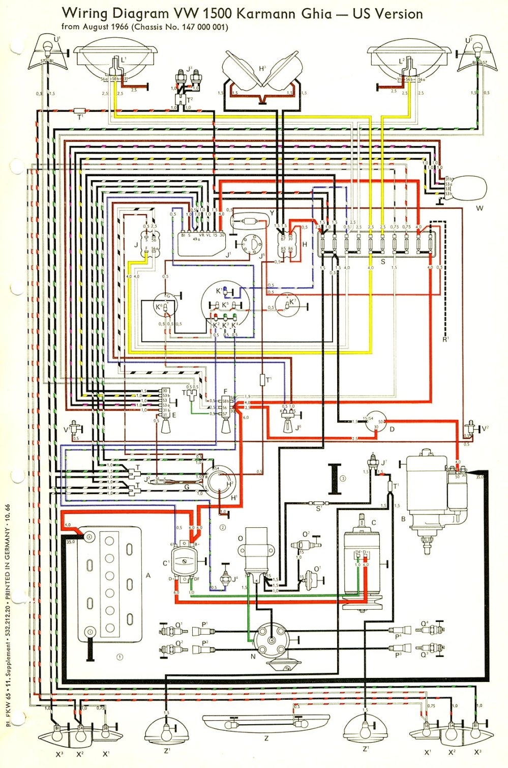 medium resolution of 1966 porsche wiring diagram wiring schematics diagram rh mychampagnedaze com 1994 ford thunderbird wiring schematic 1966