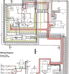 thesamba com karmann ghia wiring diagrams 1961 65  [ 1050 x 1658 Pixel ]