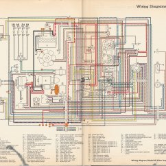 71 Vw Bus Wiring Diagram Major Muscle To Label Type 3 Coil Free Engine Image