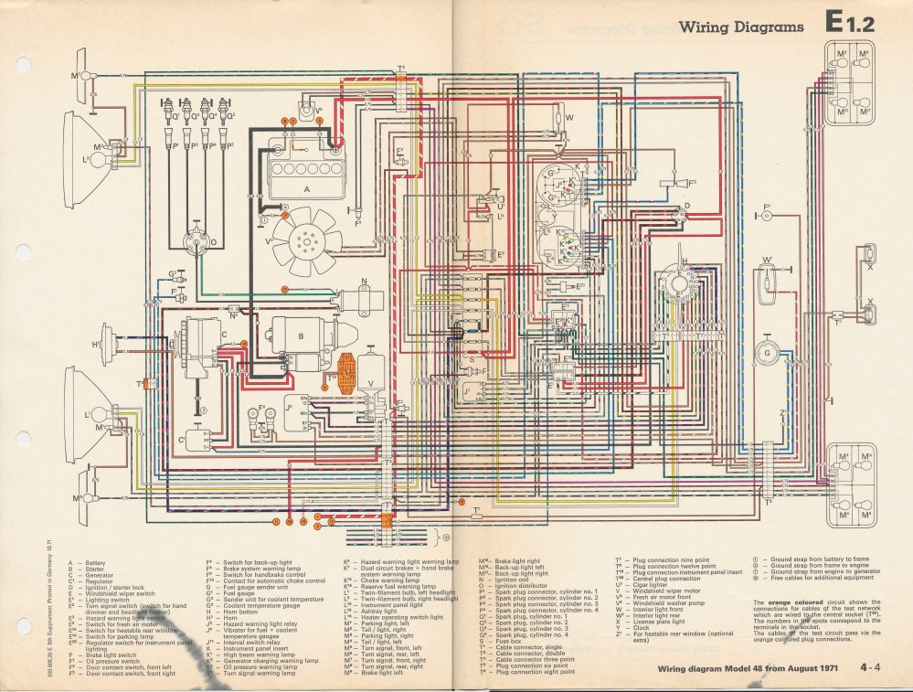 medium resolution of 71 vw type 3 coil wiring diagram 71 free engine image wiring diagrams for 2007 volkswagen