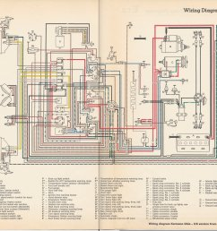thesamba com karmann ghia wiring diagrams wiring diagram for 1966 volkswagen karmann ghia models the volkswagen [ 4627 x 3507 Pixel ]