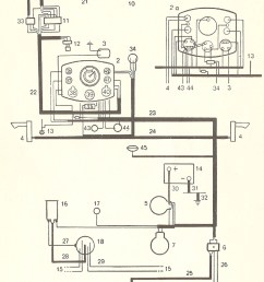 thesamba com type 1 wiring diagrams 1974 vw beetle alternator wiring diagram 74 vw beetle wiring [ 3214 x 4840 Pixel ]