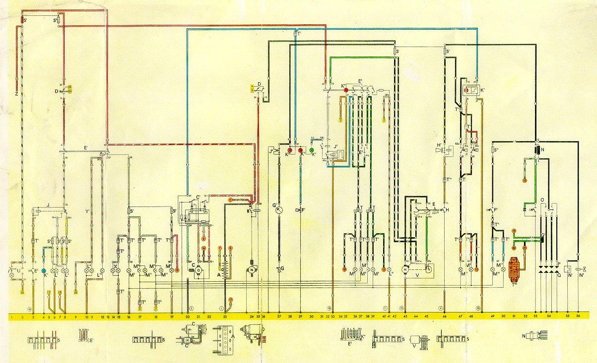 1974 vw engine diagram plug power q2 74 thing wiring free for you thesamba com diagrams rh beetle super