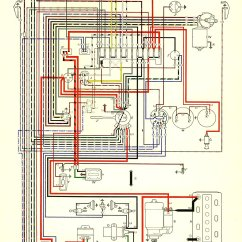 Vw Type 3 Wiring Diagram Way Switch Two Lights Thesamba Diagrams