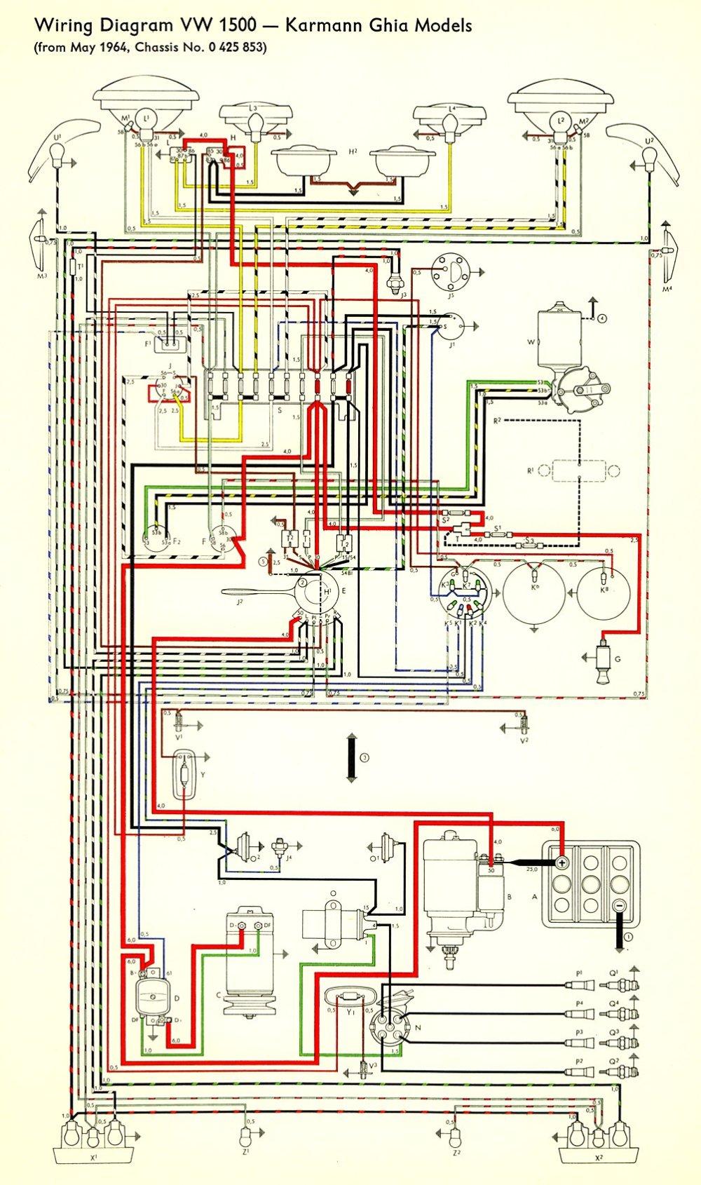 medium resolution of 1964 volkswagen wiring diagram 1964 free engine image 1964 vw beetle wiring diagram 1967 vw wiring