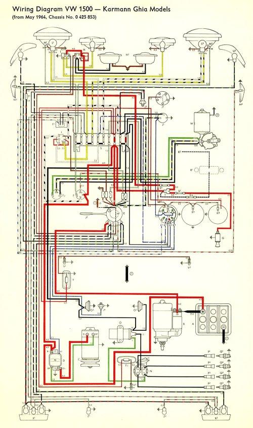 small resolution of 1964 volkswagen wiring diagram 1964 free engine image 1964 vw beetle wiring diagram 1967 vw wiring