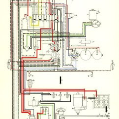 Vw 1600 Engine Diagram Lawn Tractor Ignition Switch Wiring Thesamba Type 3 Diagrams