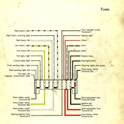 1968 Vw Type 1 Wiring Diagram Triumph Bonneville T120 Harness