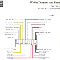 1970 Vw Beetle Ignition Switch Wiring Diagram 8 Pin Rocker 1964 Type 3 Free Engine Image For