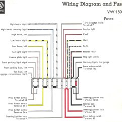 2003 Vw Jetta Tail Light Wiring Diagram For A Three Way Switch With Dimmer Thesamba Type 3 Diagrams