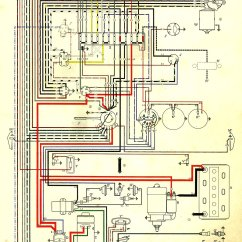 1970 Beetle Wiring Diagram 1989 Ford Truck 1968 Vw Data Volkswagen 1600 Diagrams Schematic 67