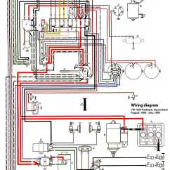 1972 Vw Bus Wiring Diagram Two Amp Thesamba Type 3 Diagrams