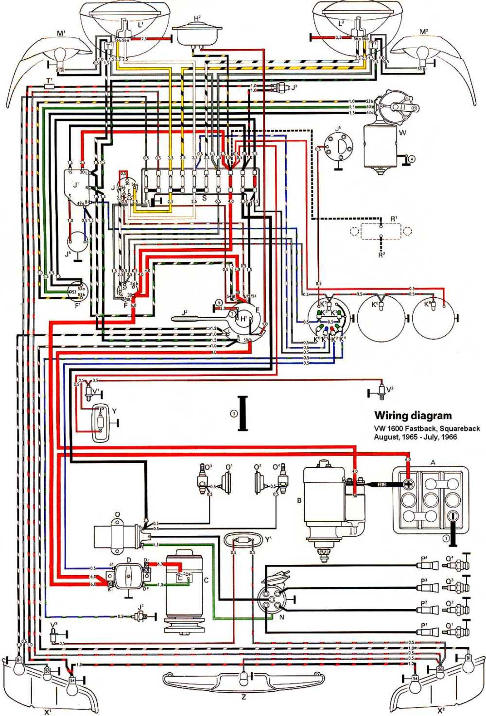 medium resolution of volkswagen 1600 wiring diagram wiring diagram pass vw 1600 coil wiring diagram vw 1600 wiring diagram