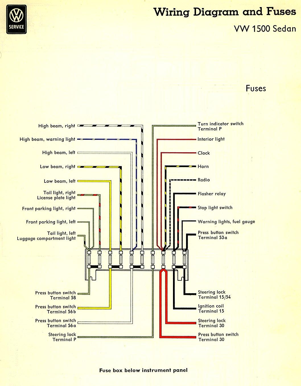 71 karmann ghia wiring diagram