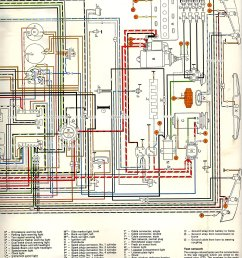 thesamba com type 3 wiring diagrams rh thesamba com 1964 vw headlight switch wiring vw type [ 1276 x 1598 Pixel ]