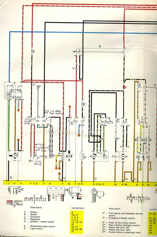 small resolution of thesamba com type 3 wiring diagrams 1968 vw wiring schematic vw squareback fuse wiring