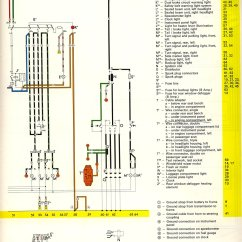 Vw Type 3 Wiring Diagram 4 Pin Trailer Plug Im Looking For A Color Coded 1973