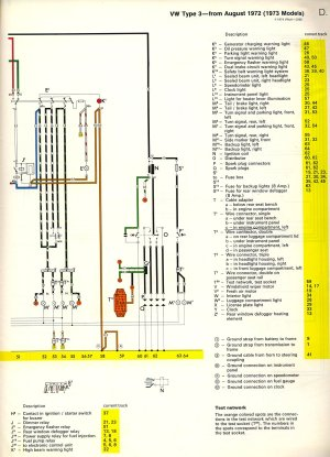 Im looking for a colorcoded wiring diagram for a 1973 VW