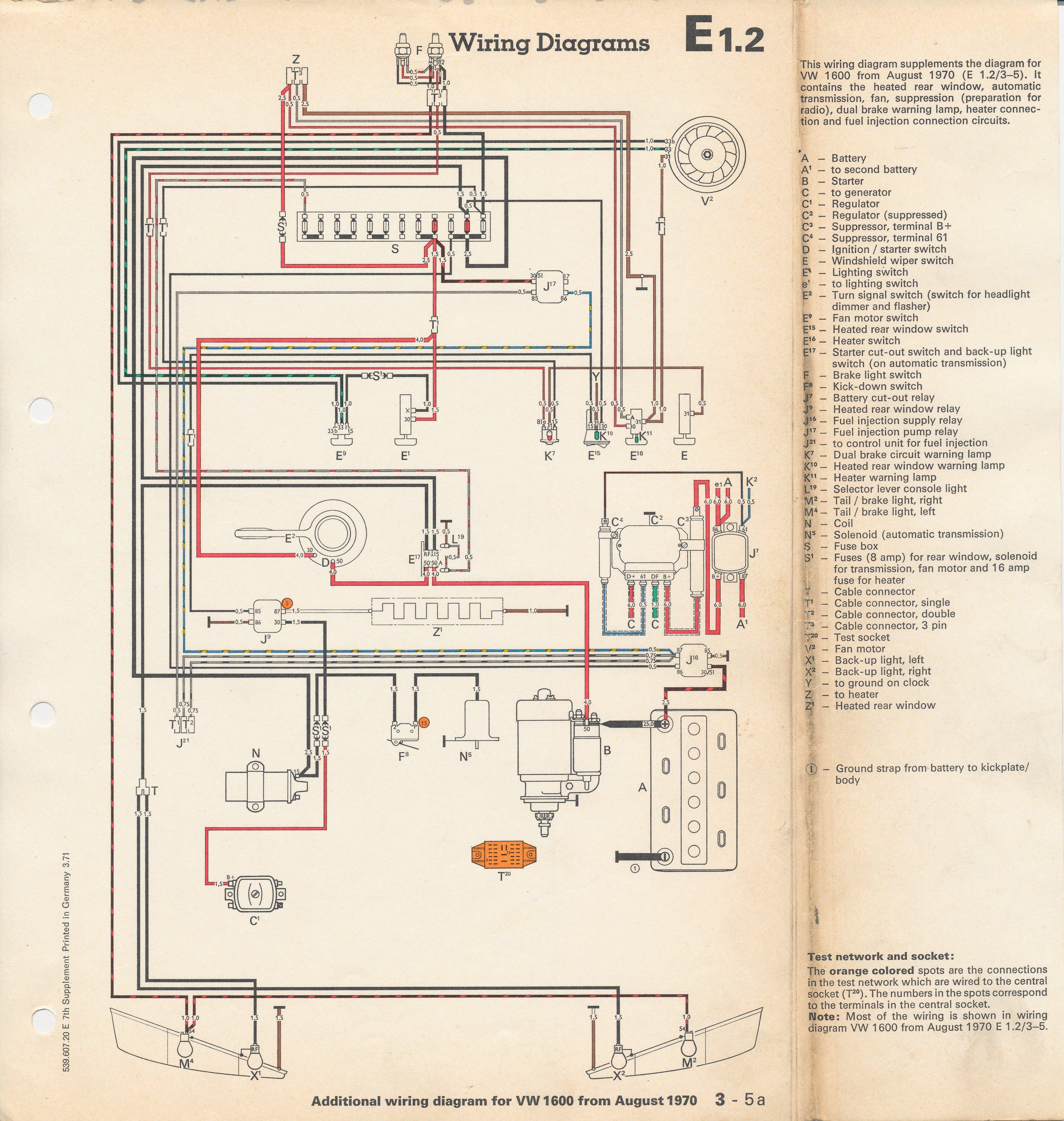 wiring diagram automotive sony cdx gt360mp thesamba.com :: type 3 diagrams