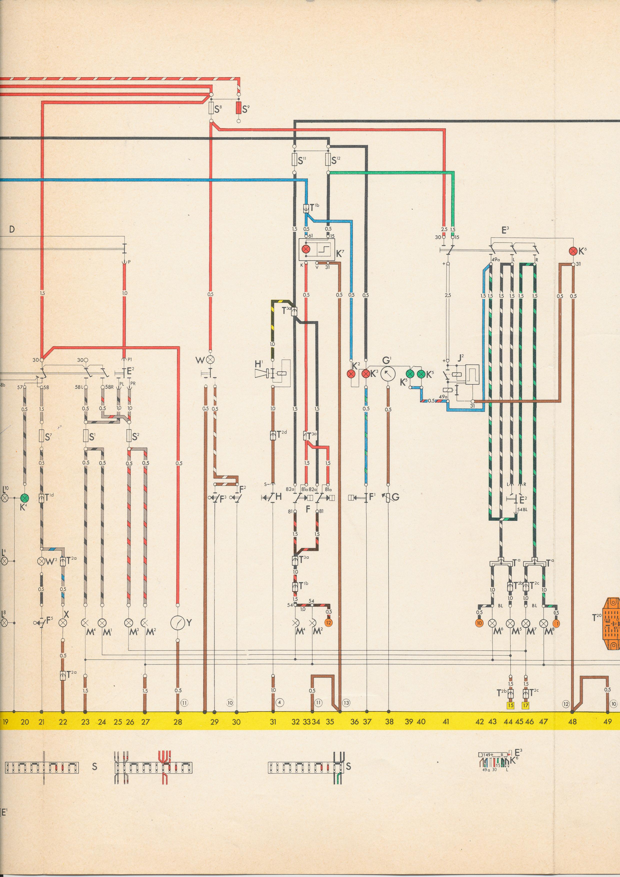 Beetle Fuse Box Diagram Thesamba Com Type 3 Wiring Diagrams