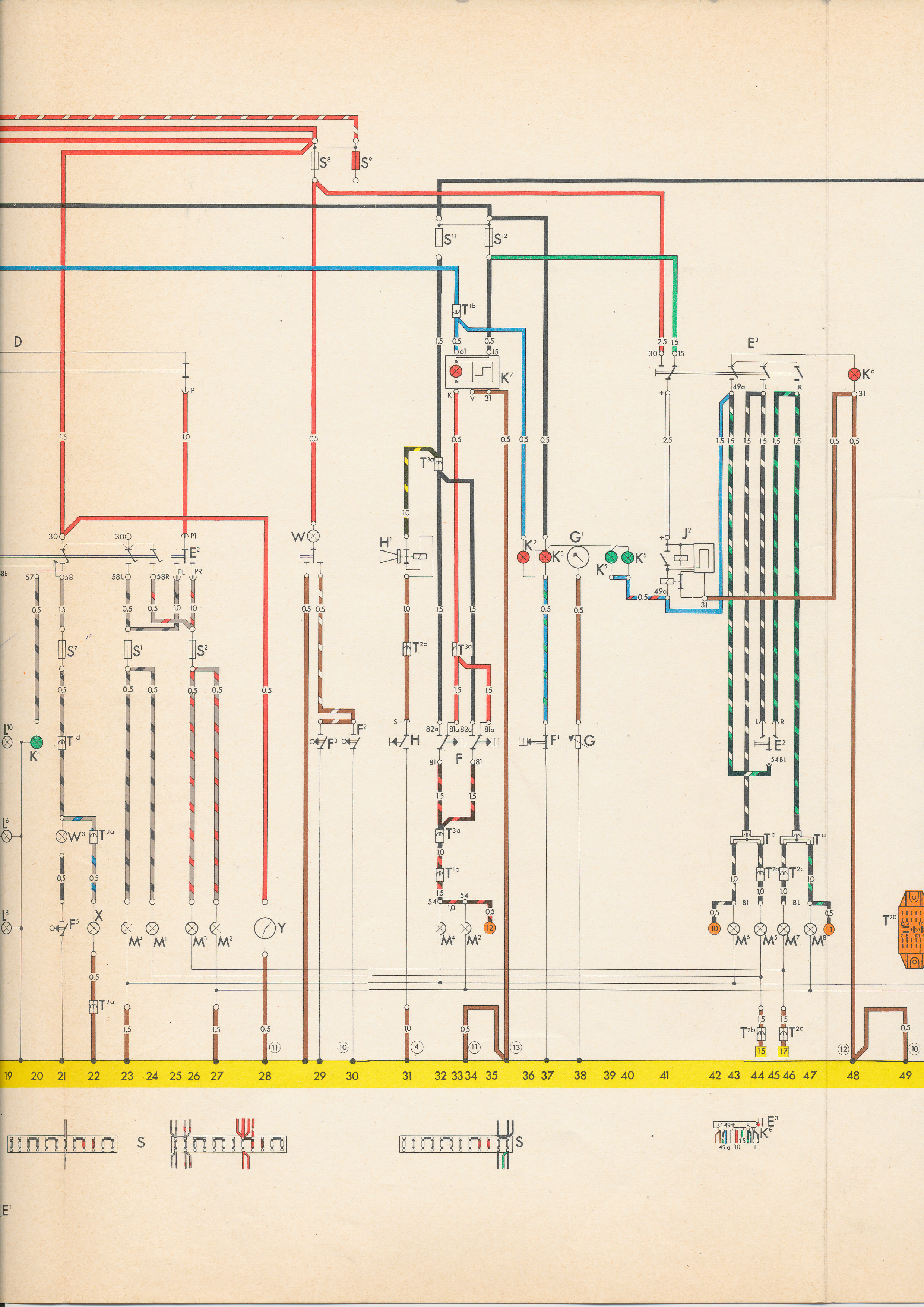 vw type 3 wiring diagram kenwood excelon stereo 72 karmann ghia get free image about