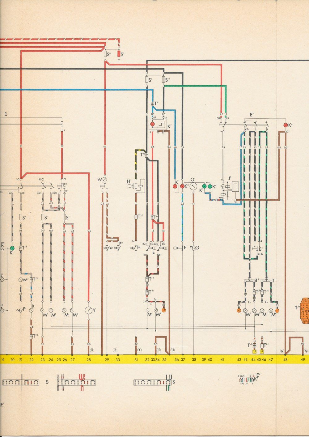 medium resolution of thesamba com type 3 wiring diagramsvw type 3 wiring diagram 10