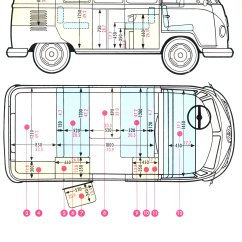 Vw T1 Wiring Diagram 2000 Ford Expedition Radio 1960 Bus Drawing Autos Post
