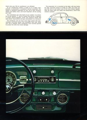 TheSamba :: VW Archives  1966 Beetle and Type 3 Air Conditioning Brochure