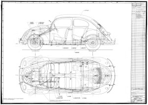 For Type 2 Vw Engine Wiring Diagram Thesamba Com 1948 Beetle Drawing
