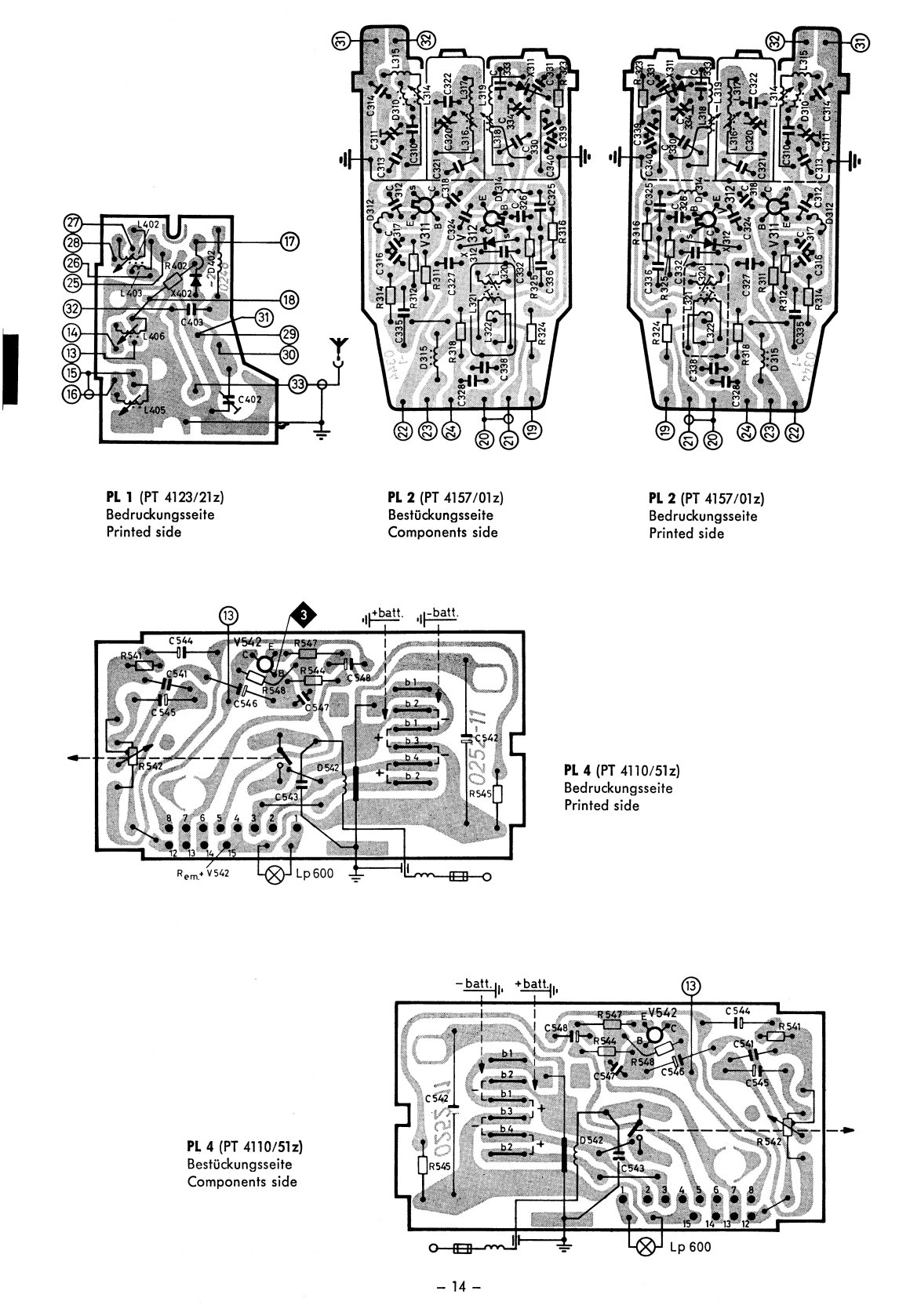 TheSamba.com :: 1968/69 Blaupunkt Essen Radio Service Manual