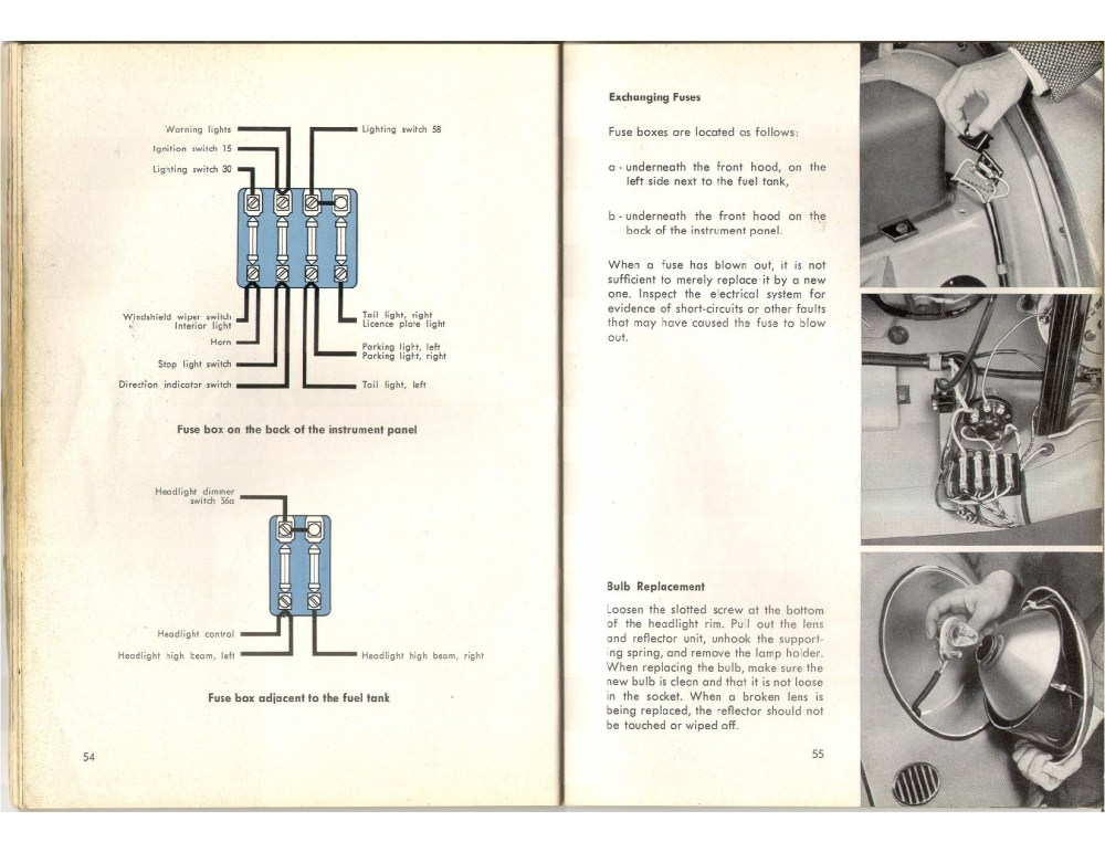 medium resolution of thesamba com beetle oval window 1953 57 view topic 56 fuse box placement