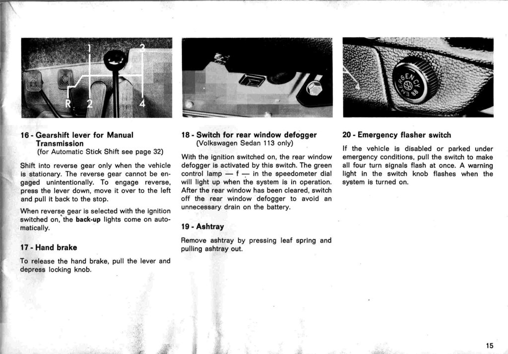 TheSamba.com :: 1971 Beetle Owner's Manual