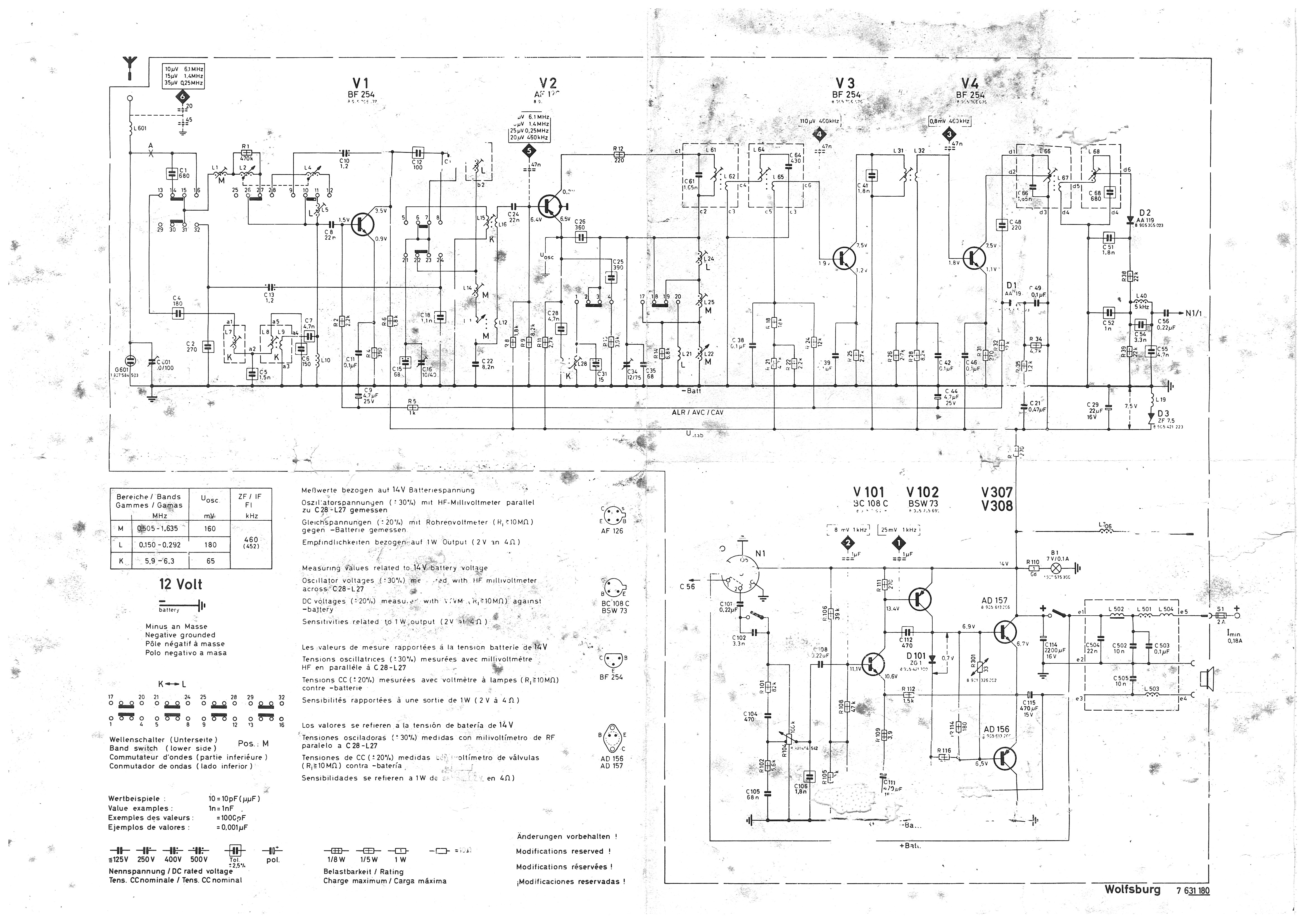 Blaupunkt 568 Wiring Diagram Car Stereo Radio Diagramdesign