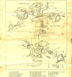 solex 28 pict 1 rebuild instruction sheet page 1 2 all upright  [ 829 x 1069 Pixel ]