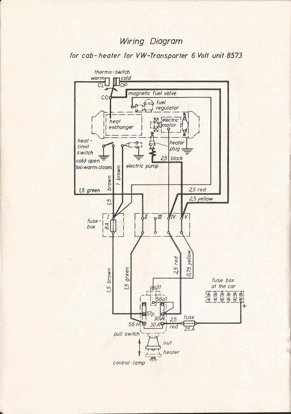 medium resolution of eberspacher wiring diagram forum thesamba com beetle late model super