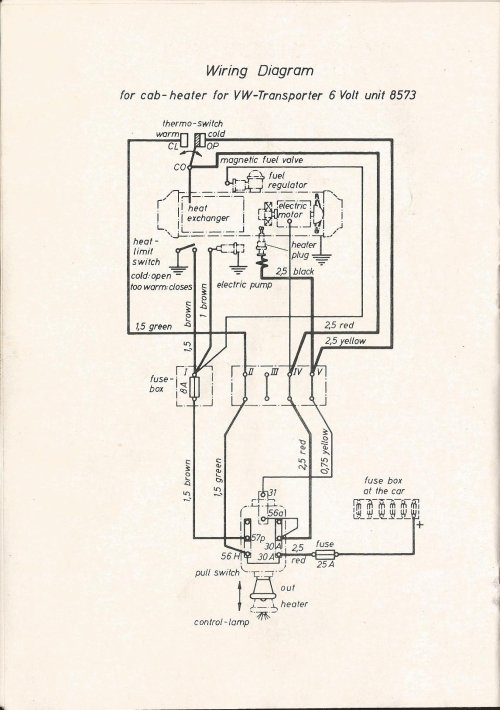 small resolution of eberspacher wiring diagram forum thesamba com beetle late model super