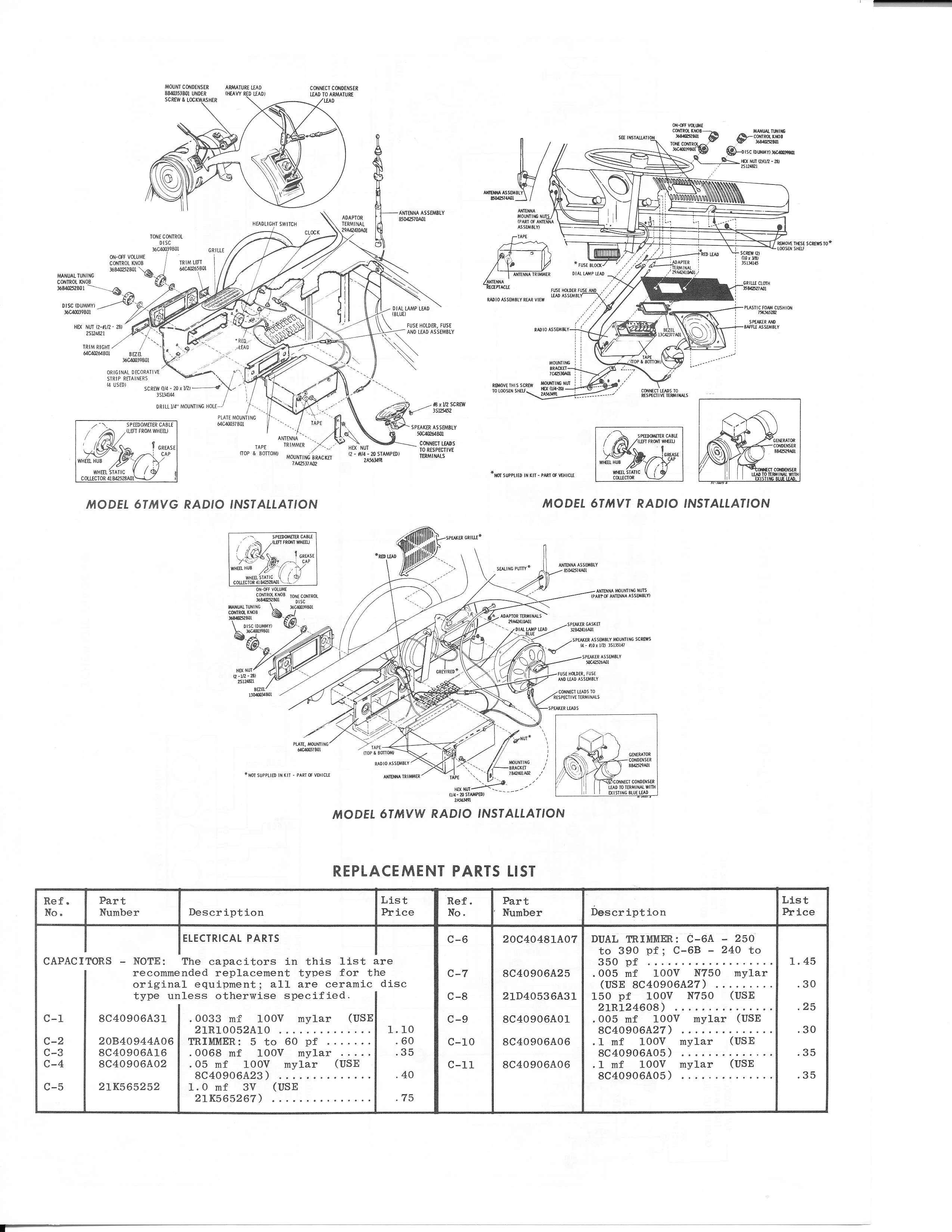 TheSamba.com :: 1966 Motorola Sapphire III Service Manual