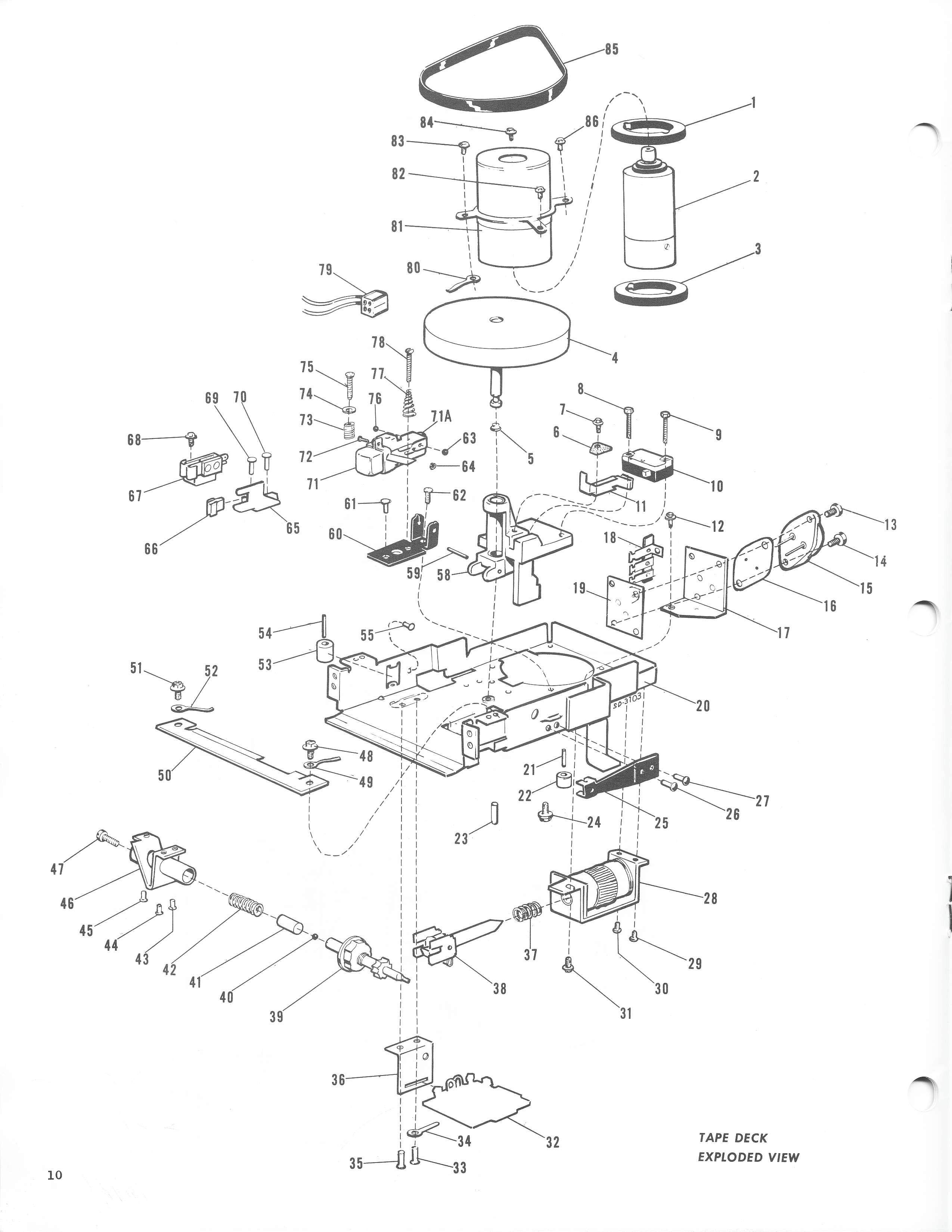 TheSamba.com :: 1967 Motorola Sapphire VIII with Tape