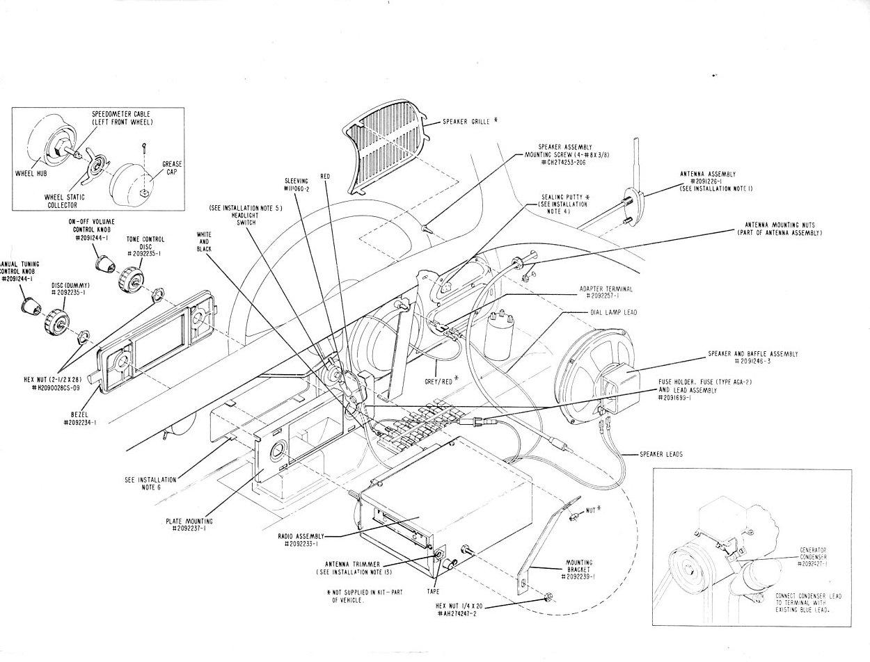 TheSamba.com :: March 1962 Sapphire I VW Installation Manual