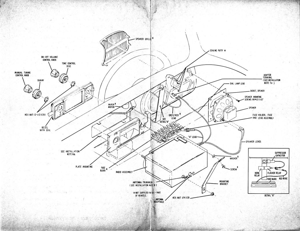 TheSamba.com :: Nov. 66 VW Sapphire V radio manual