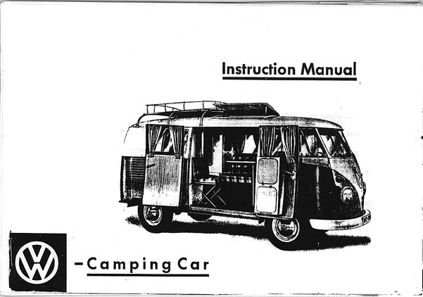 TheSamba.com :: 1965 VW Westaflia Bus SO 34/35 booklet