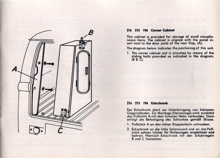 TheSambacom  1966 VW Westfalia Camper Bus SO 42 booklet