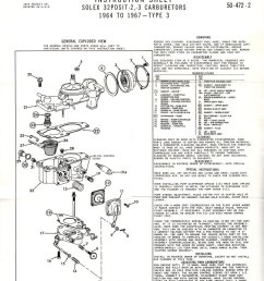 thesamba com carburetor manuals vw rod vw carb diagram [ 824 x 1065 Pixel ]