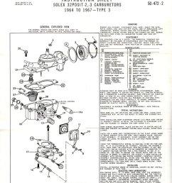 solex 32 pdsit 2 3 carburetor [ 824 x 1065 Pixel ]