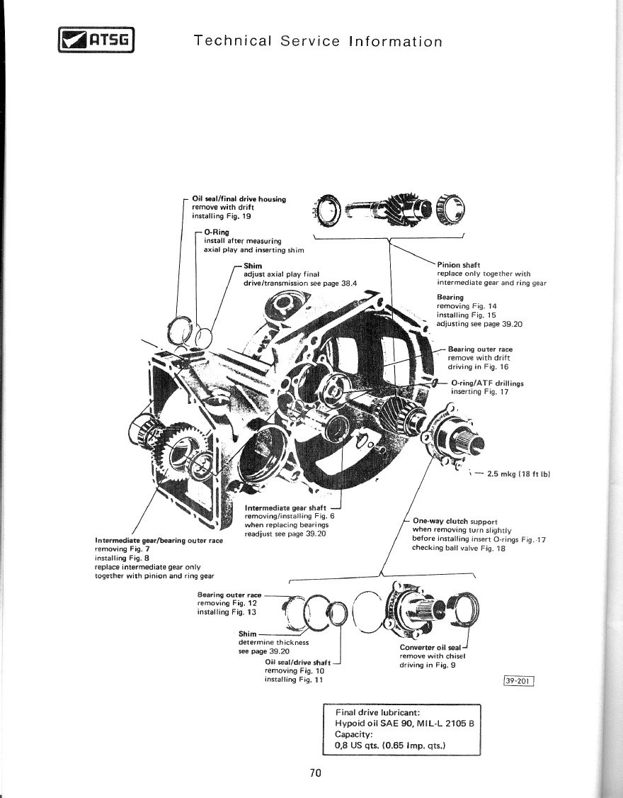 TheSamba.com :: Techtran Volkswagen Automatic Transmission